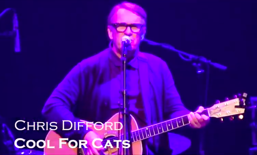 Chris Difford 'Cool For Cats' live for 'Music Minds' at the O2 Academy Islington
