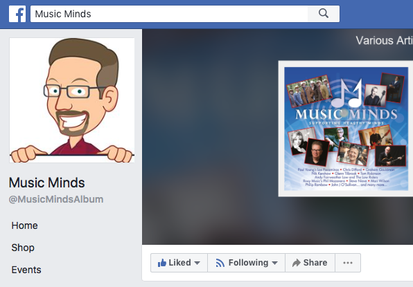 Music Minds… Find us on Facebook…