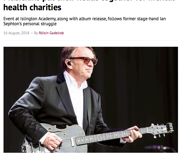 Nice article about our Fundraiser event in the Camden New Journal