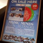 The posters for our Music Minds – A Fundraiser For Healthier Minds