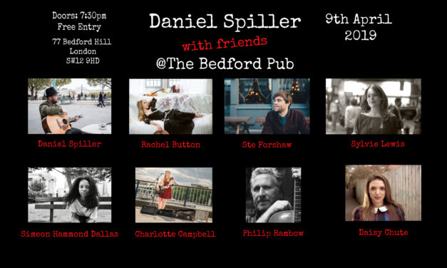 Gig: Daniel Spiller and guests, including Philip Rambow at The Bedford 9th April