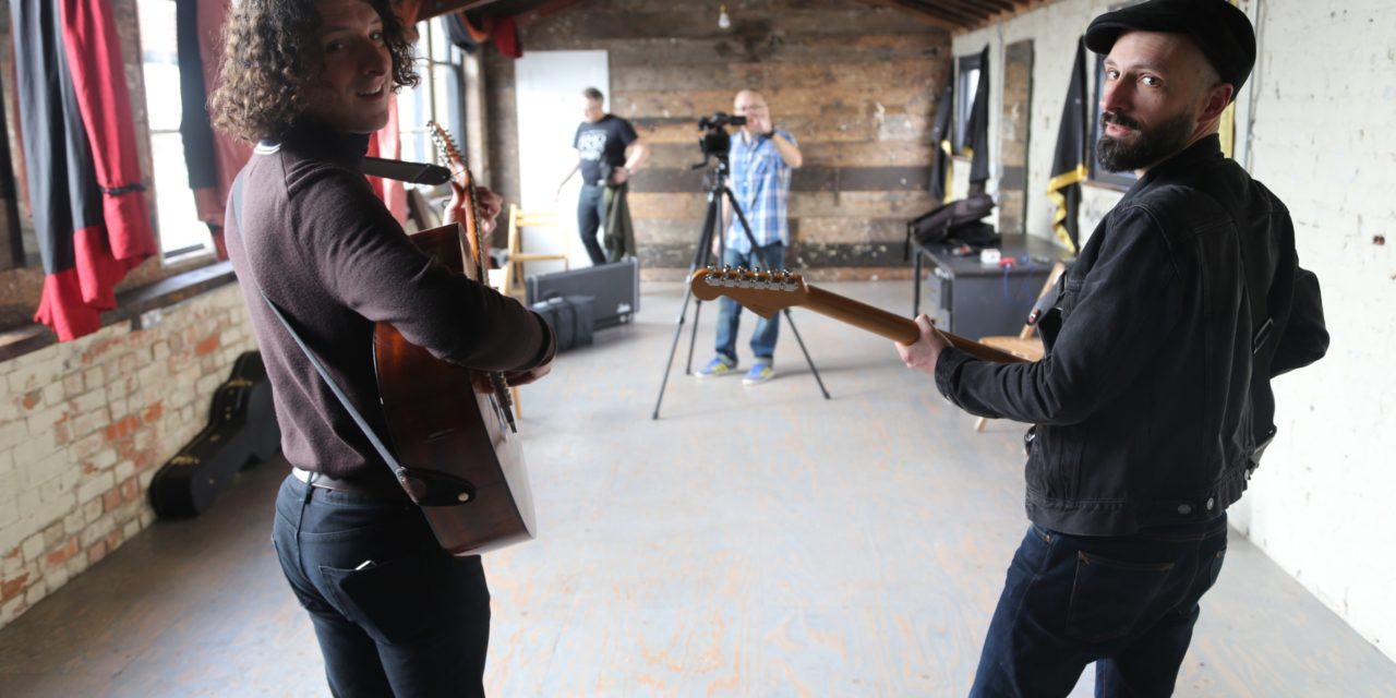Behind the scenes with Rich and Mik of Junkboy at Copperdollar Studios