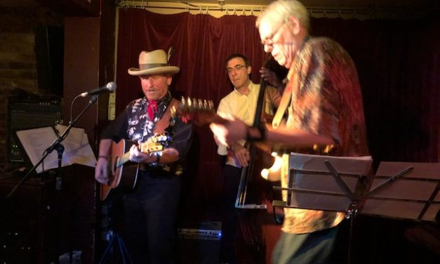 What a great night at Green Note with Philip Rambow!