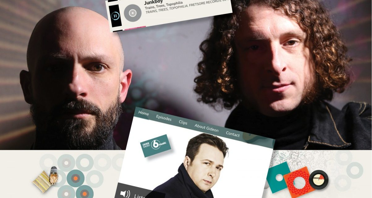 BBC Radio 6: Gideon Coe play's Junkboy's 'Trains, Trees, Topophilia'