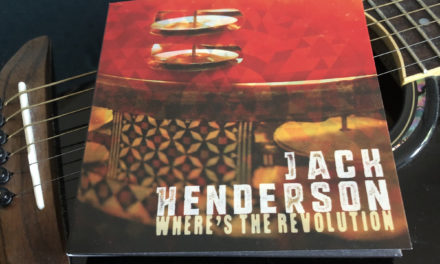 New album release: Jack Henderson – 'Where's The Revolution'